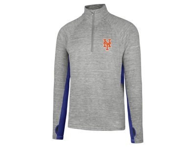New York Mets MLB Men's Evolve Quarter Zip Pullover