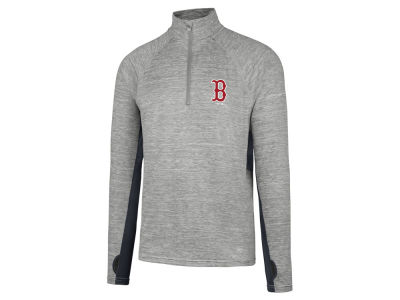 Boston Red Sox MLB Men's Evolve Quarter Zip Pullover