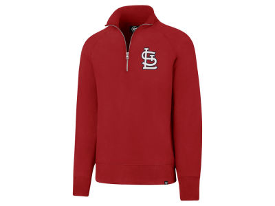 St. Louis Cardinals '47 MLB Men's Headline Quarter Zip Pullover