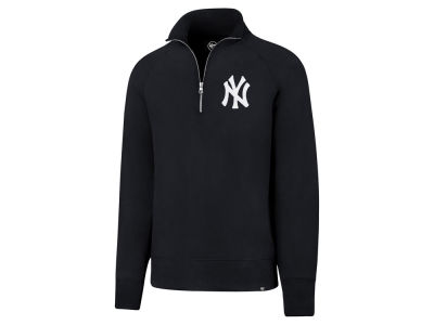 New York Yankees MLB Men's Headline Quarter Zip Pullover