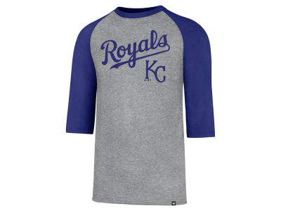 Kansas City Royals MLB Men's Pregame Raglan T-shirt