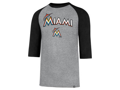 Miami Marlins MLB Men's Pregame Raglan T-shirt