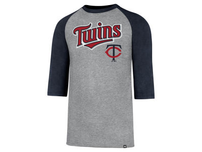 Minnesota Twins MLB Men's Pregame Raglan T-shirt