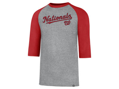 Washington Nationals '47 MLB Men's Pregame Raglan T-shirt