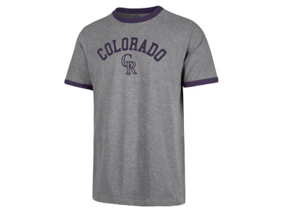 Colorado Rockies MLB Men's Capital Ringer T-Shirt