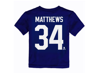 Toronto Maple Leafs adidas NHL Toddler Player T-Shirt