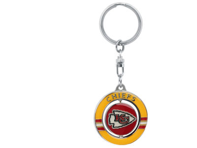 Kansas City Chiefs Team Spinner Keychain