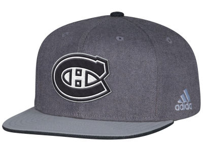 Montreal Canadiens adidas NHL Travel & Training Snapback Cap
