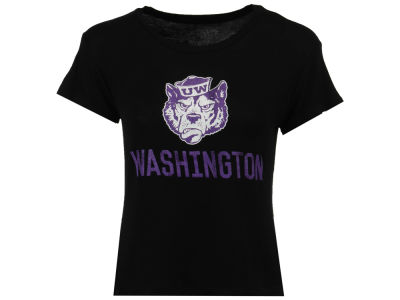Washington Huskies Retro Brand NCAA Women's Rayon Karen T-Shirt