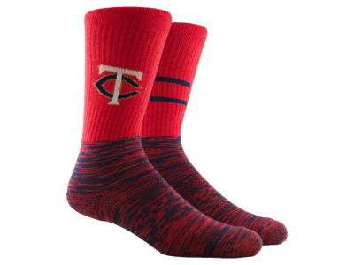 Minnesota Twins Parkway MLB Block Crew Socks