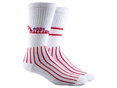Philadelphia Phillies Parkway MLB Block Crew Socks