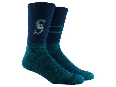 Seattle Mariners Parkway MLB Block Crew Socks