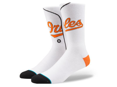Baltimore Orioles Stance MLB Home Jersey Series Crew Socks