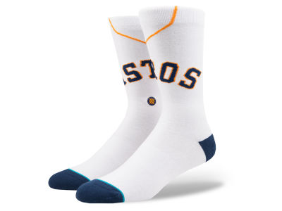 Houston Astros Stance MLB Home Jersey Series Crew Socks