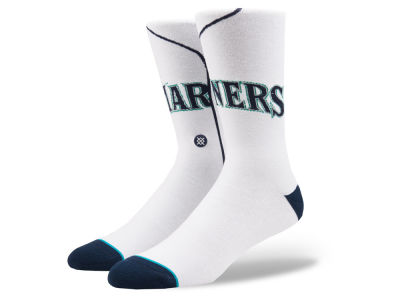Seattle Mariners Stance MLB Home Jersey Series Crew Socks