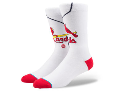 St. Louis Cardinals Stance MLB Home Jersey Series Crew Socks