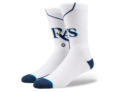 Tampa Bay Rays Stance MLB Home Jersey Series Crew Socks