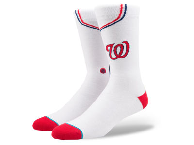 Washington Nationals Stance MLB Home Jersey Series Crew Socks