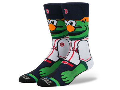 Boston Red Sox Stance MLB Mascot Crew Socks