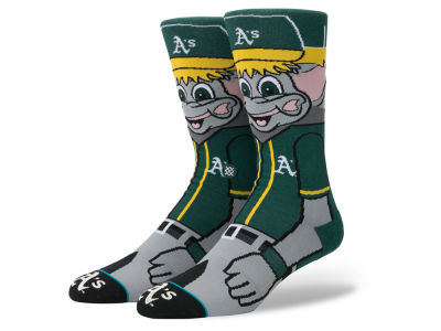 Oakland Athletics Stance MLB Mascot Crew Socks