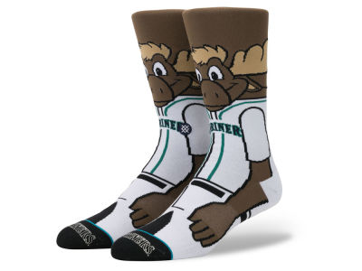 Seattle Mariners Stance MLB Mascot Crew Socks