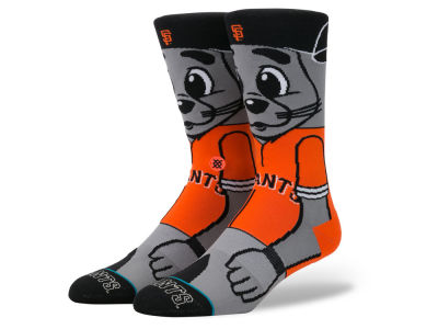 San Francisco Giants Stance MLB Mascot Crew Socks