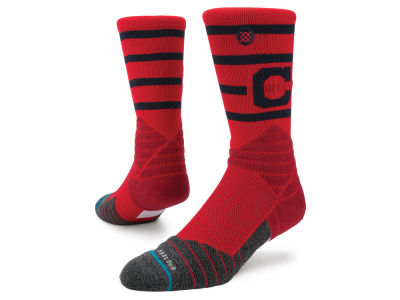 Cleveland Indians Stance MLB Diamond Pro Authentic Crew Socks