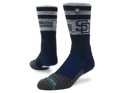 San Diego Padres Stance MLB Diamond Pro Authentic Crew Socks