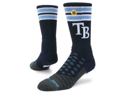 Tampa Bay Rays Stance MLB Diamond Pro Authentic Crew Socks