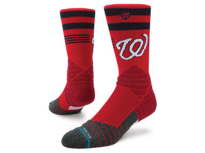 Washington Nationals Stance MLB Diamond Pro Authentic Crew Socks