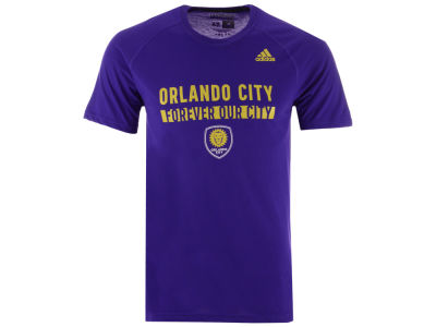 Orlando City SC adidas MLS Men's Utility Work T-Shirt