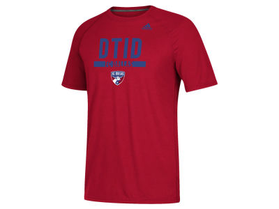 FC Dallas adidas MLS Men's Utility Work T-Shirt
