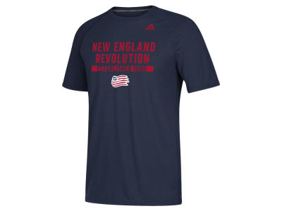 New England Revolution adidas MLS Men's Utility Work T-Shirt