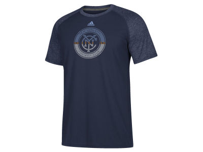 New York City FC adidas MLS Men's Redirection Logo T-Shirt