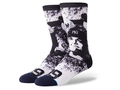 New York Yankees Aaron Judge Stance MLB Future Legends Splatter Cartoon Crew Socks