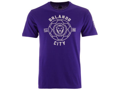 Orlando City SC adidas MLS Men's Linear Icon Tri-blend T-Shirt