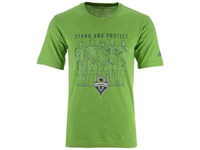 Seattle Sounders FC adidas MLS Men's The Wall T-Shirt