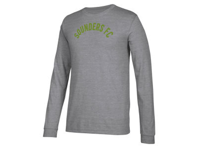 Seattle Sounders FC adidas MLS Men's Arched Long Sleeve T-Shirt