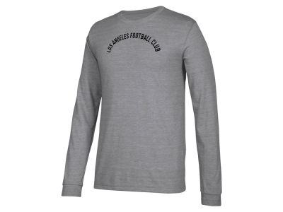 Los Angeles Football Club adidas MLS Men's Arched Long Sleeve T-Shirt