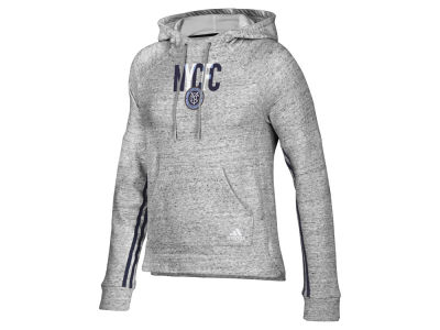 New York City FC adidas MLS Women's Inner Drop Hoodie