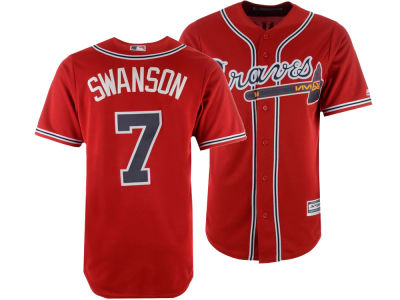 Atlanta Braves Dansby Swanson MLB Men's Player Replica Cool Base Jersey