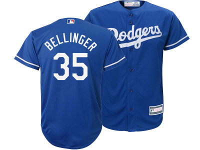 Los Angeles Dodgers Cody Bellinger Majestic MLB Youth Player Replica Cool Base Jersey