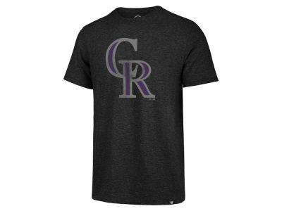 Colorado Rockies '47 MLB Men's Coop Tri-blend Match T-Shirt