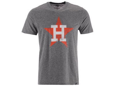 Houston Astros '47 MLB Men's Coop Tri-blend Match T-Shirt