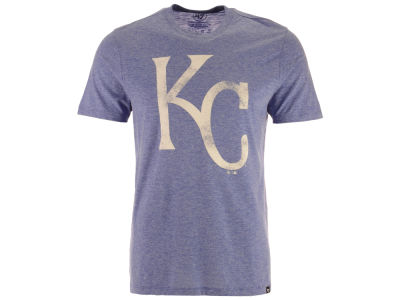 Kansas City Royals MLB Men's Coop Tri-blend Match T-Shirt