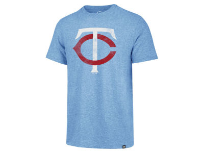 Minnesota Twins MLB Men's Coop Tri-blend Match T-Shirt