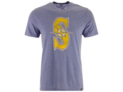 Seattle Mariners '47 MLB Men's Coop Tri-blend Match T-Shirt