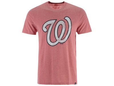 Washington Nationals MLB Men's Coop Tri-blend Match T-Shirt