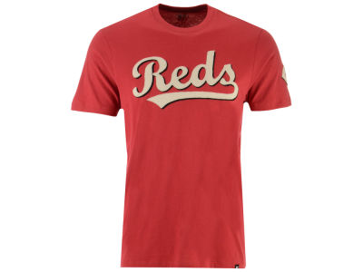 Cincinnati Reds '47 MLB Men's Fieldhouse Basic T-Shirt