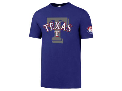 Texas Rangers '47 MLB Men's On-Deck Rival T-Shirt